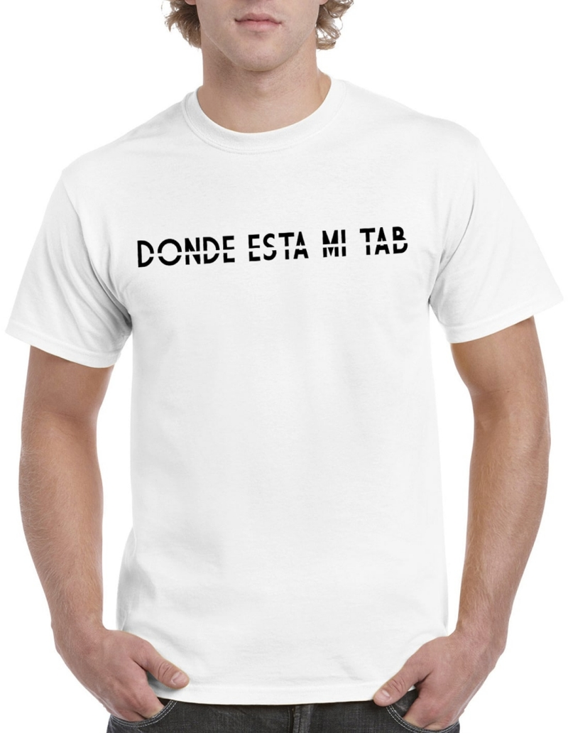 T-shirt - Donde esta mi tab