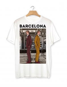 T-Shirt by Javier De Travy - Barcelona