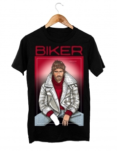 T-Shirt by Javier De Travy - Biker